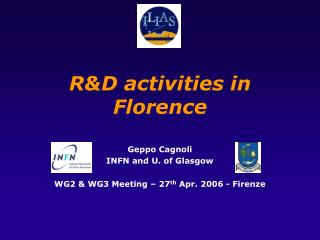 R&D activities in Florence