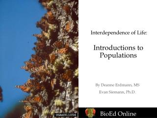 Interdependence of Life: Introductions to Populations