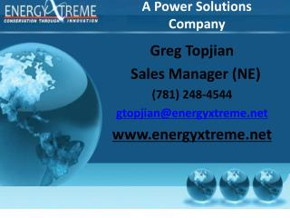 A Power Solutions Company