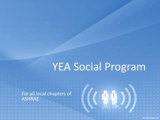 YEA Social Program