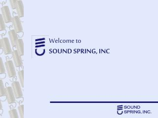 Welcome to SOUND SPRING, INC