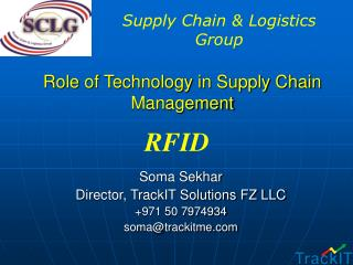 Role of Technology in Supply Chain Management