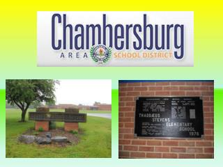 Green Spaces at Thaddeus Stevens Elementary School   Chambersburg, Pennsylvania