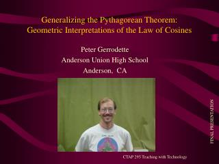 Generalizing the Pythagorean Theorem: Geometric Interpretations of the Law of Cosines