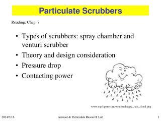 Particulate Scrubbers