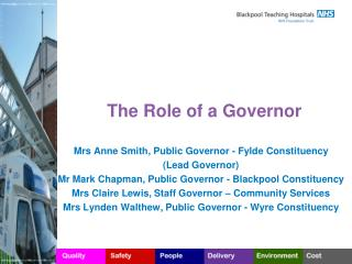 The Role of a Governor