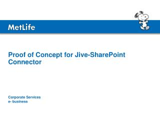 Proof of Concept for Jive-SharePoint Connector