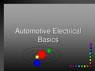Automotive Electrical Basics