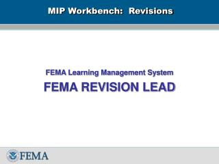 MIP Workbench: Revisions