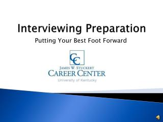 Interviewing Preparation