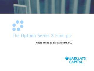 The Optima Series 3 Fund Plc