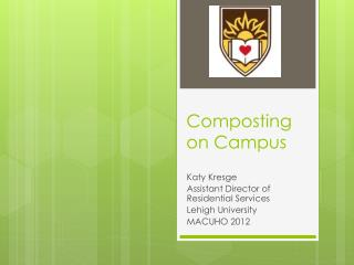 Composting on Campus
