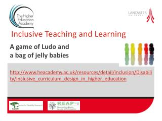 Inclusive Teaching and Learning