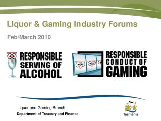 Liquor & Gaming Industry Forums