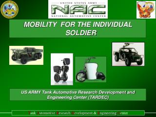 MOBILITY  FOR THE INDIVIDUAL SOLDIER