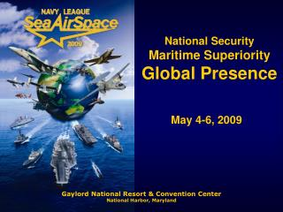 National Security Maritime Superiority Global Presence