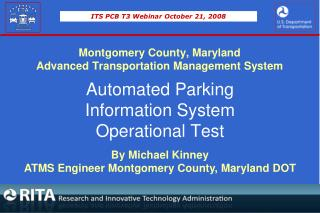 Montgomery County, Maryland  Advanced Transportation Management System