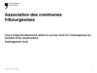 Association des communes fribourgeoises