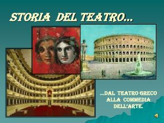 Storia  del Teatro…
