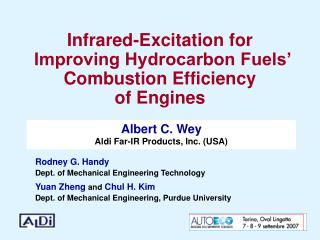 Infrared-Excitation for   Improving Hydrocarbon Fuels' Combustion Efficiency of Engines