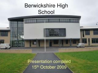 Berwickshire High School