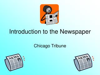 Introduction to the Newspaper