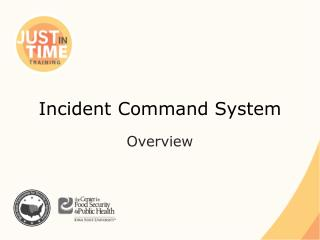 Incident Command System