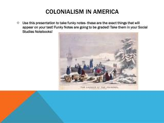 Colonialism in America