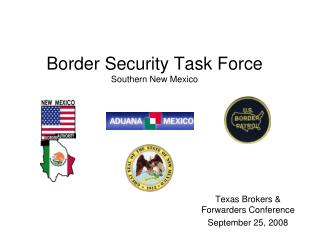 Border Security Task Force Southern New Mexico