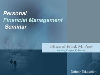 Personal Financial Management Seminar