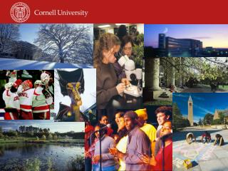 Welcome to Cornell!