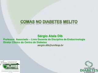 COMAS no diabetes  Melito