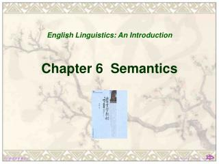 Chapter 6 Semantics