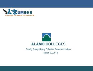 Faculty  Range Salary  Schedule  Recommendation March 20, 2012