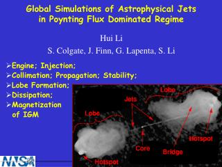 Global Simulations of Astrophysical Jets in Poynting Flux Dominated Regime