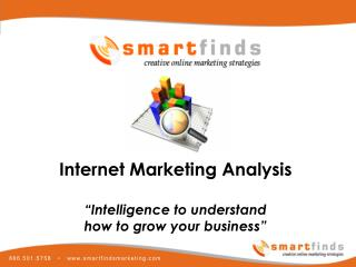 SmartFinds Internet Marketing Analysis