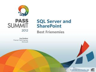 SQL Server and SharePoint