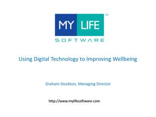 Using Digital Technology to Improving Wellbeing
