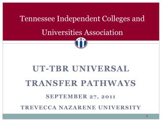 Tennessee Independent Colleges and Universities Association