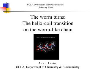 The worm turns: The helix-coil transition  on the worm-like chain
