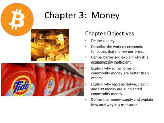 Chapter 3:  Money