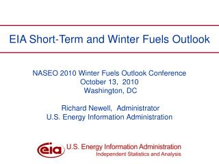 EIA Short-Term and Winter Fuels Outlook