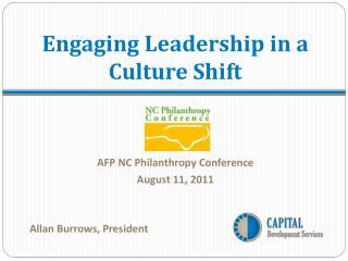 Engaging Leadership in a Culture Shift