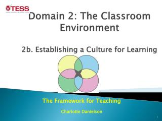 Domain 2: The Classroom Environment 2b. Establishing a Culture for Learning