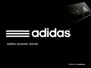 adidas eyewear stands