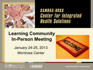 Learning Community In-Person Meeting