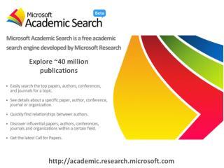 http://academic.research.microsoft.com