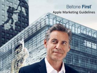 Apple Marketing Guidelines