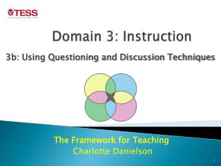 Domain 3: Instruction