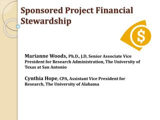 Sponsored Project  Financial Stewardship